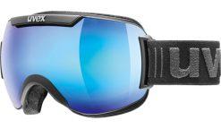 6103_uvex downhill 2000 FM_Black mat - blue mirror